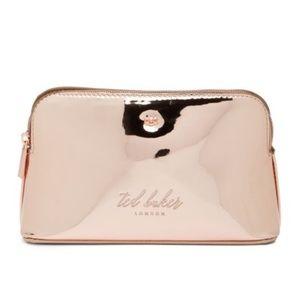 Ted Baker London Mirrored Makeup Bag Pink